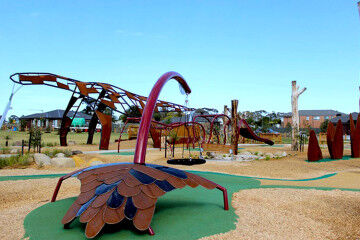 Melbourne Megasaurus playground for dinosaur lovers
