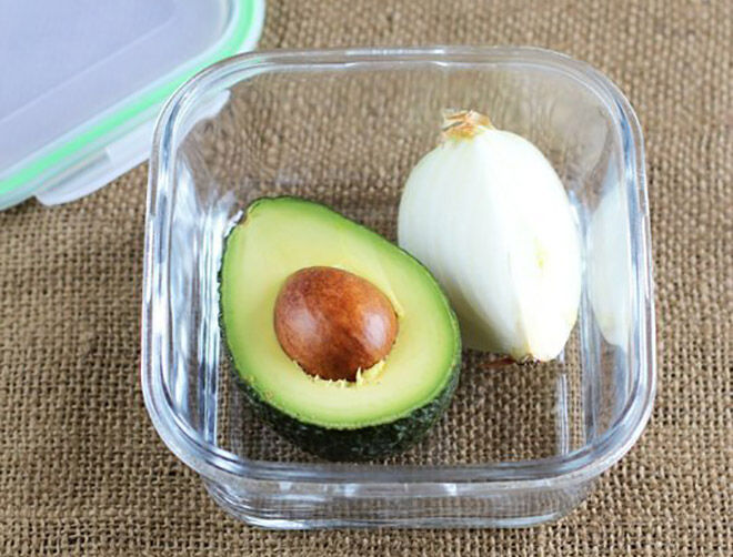 How to keep a cut avocado fresher for longer.