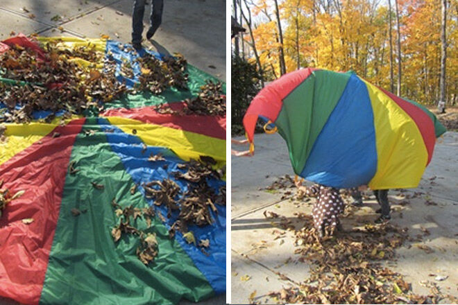 Autumn-activities-parachute