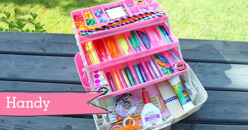 15 neat ways to organise kids 39 craft supplies for Crafts for kids com