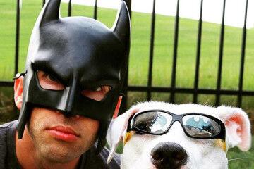 Instagram Batman dad superhero