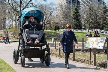 Try before you buy adult strollers