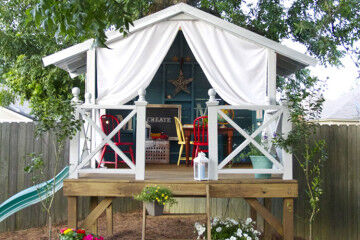 DIY Backyard play spaces