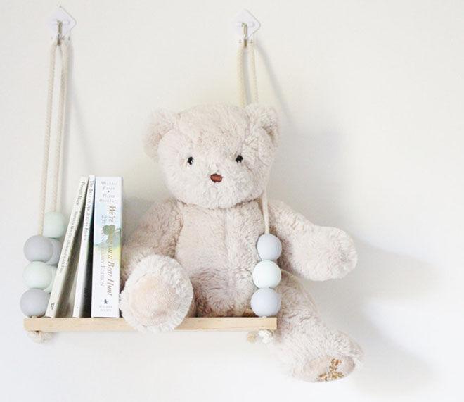 nursery shelf