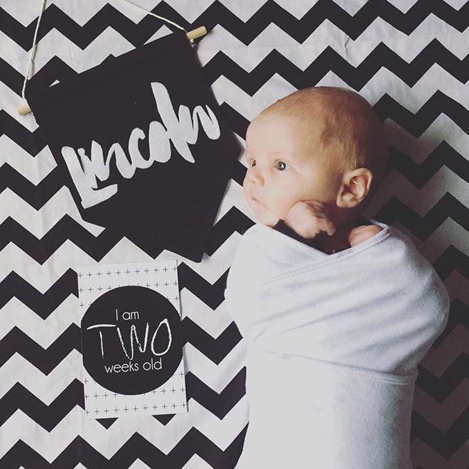 ETSY Find: Baby Milestone Cards