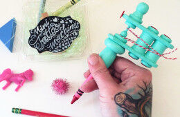 Etsy Daily Find pretend play tattoo