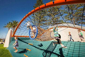 Glenelg playground in Adelaide