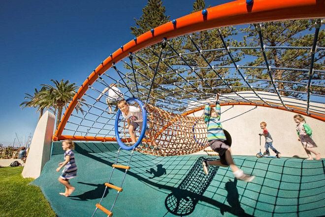 Life 39 s beachy at glenelg playground mum 39 s grapevine for Adelaide innovative landscaping