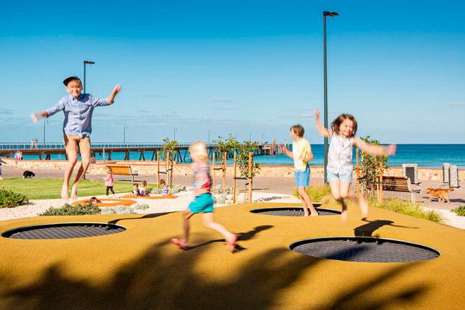 SA Adelaide playground play kids