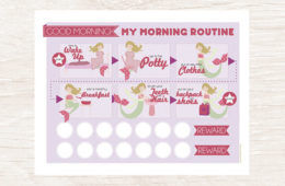 routine chart etsy