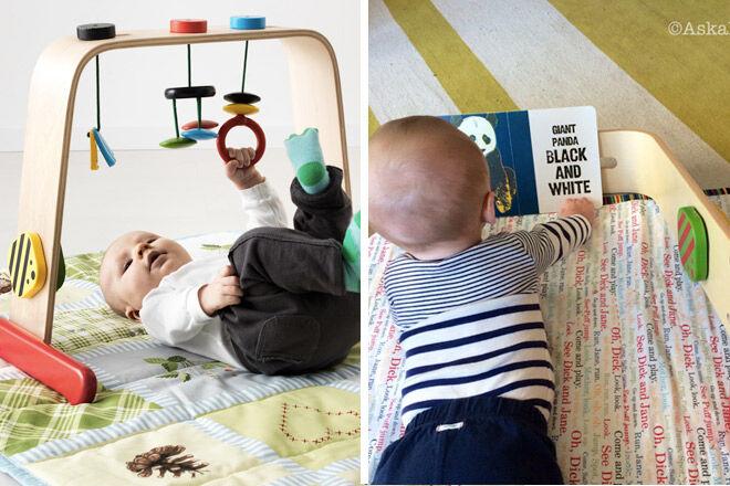 Tummy-time-IKEA-play-gym