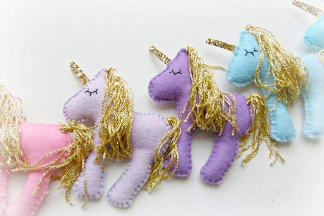 Unicorn Pastel Handmade Garland