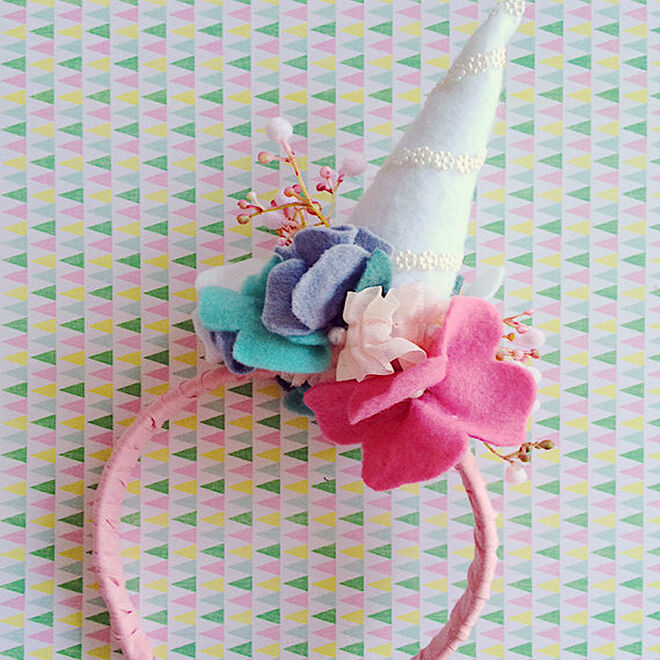 Unicorn Headband Horn