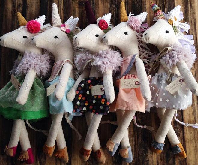 Unicorn Handmade Soft Toy