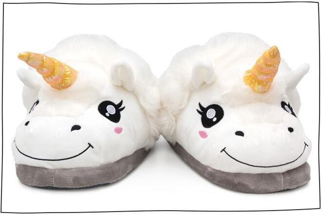 Unicorn-slippers