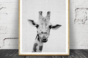 Lila x Lola Giraffe print