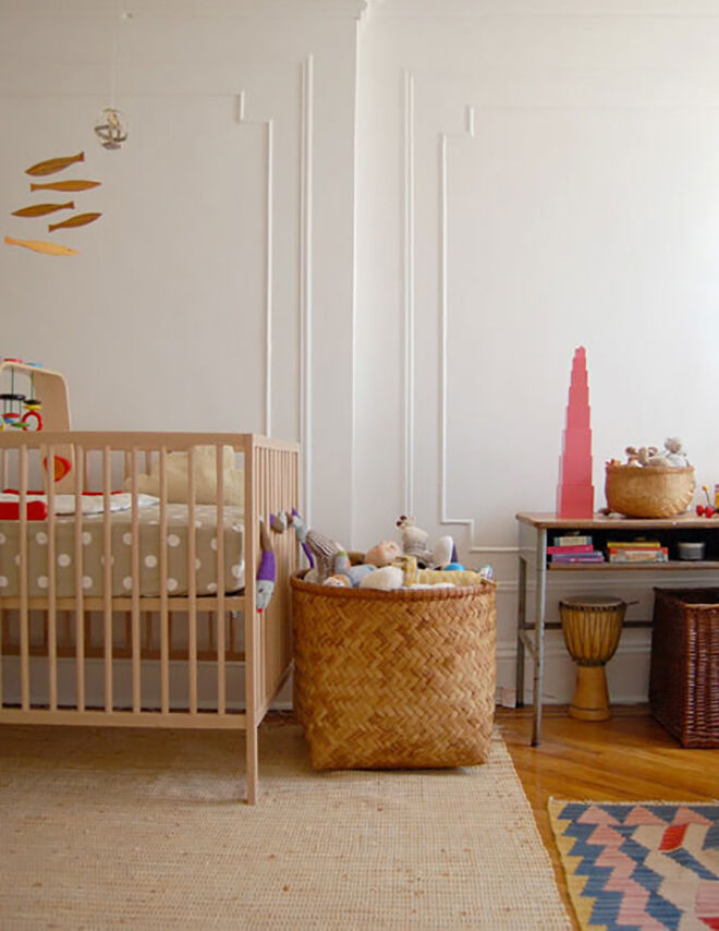 Amazing ways to style the $99 IKEA cot.