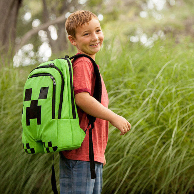 Creeper Backpack - Ultimate Minecraft Gift Guide