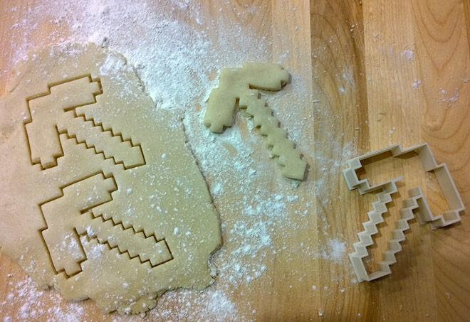 Minecraft Cookie Cutter - Minecraft Gift Guide