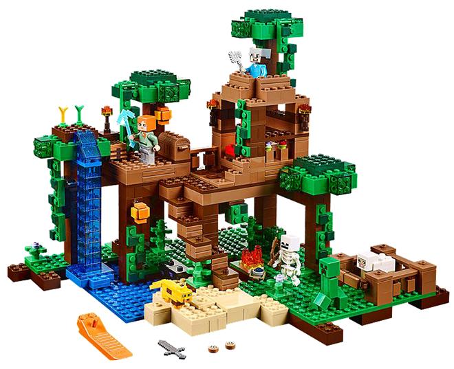 Lego Minecraft Jungle - Minecraft Gift Guide