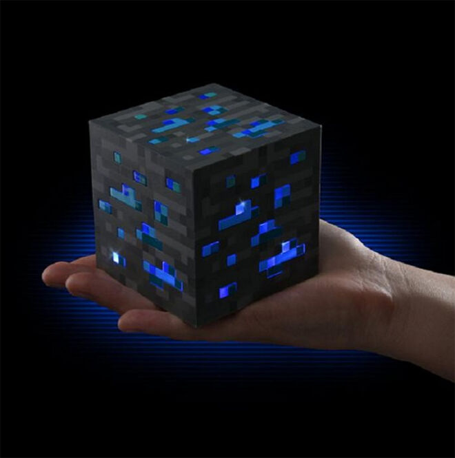 Light Up Ore Lamp - Mum's Grapevine Ultimate Minecraft Gift Guide