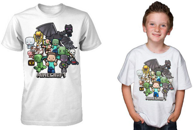 T-shirt - Ultimate Minecraft Gift Guide.