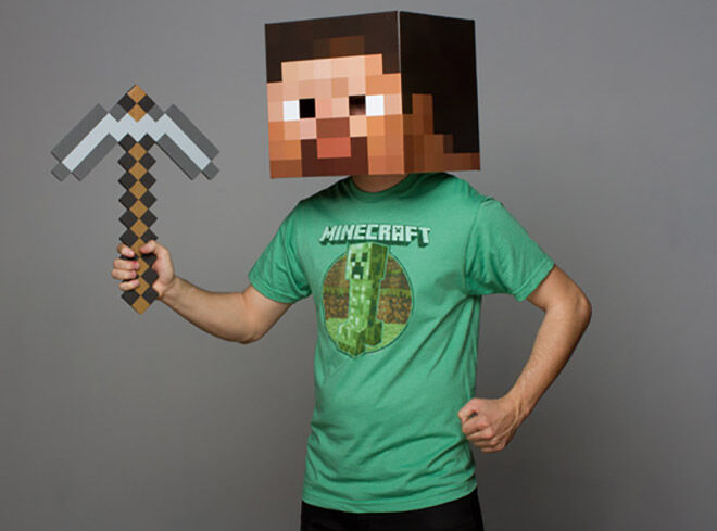 Steve Head - The Ultimate Minecraft Gift Guide
