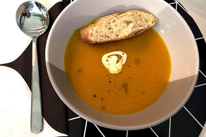 Coles Pumpkin Soup - convenience meals