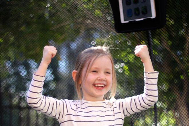 trampoline tgoma kids outdoor play