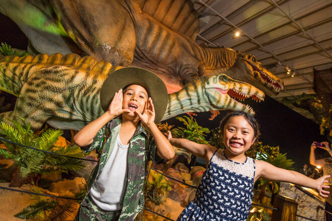 Queensland Brisbane museum kid school holiday dinosaurs