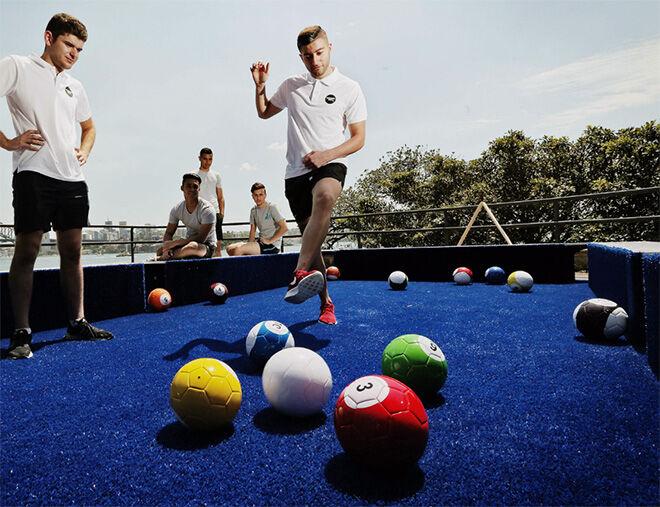 Snooker Feet in Cronulla - Sydney July School Holidays