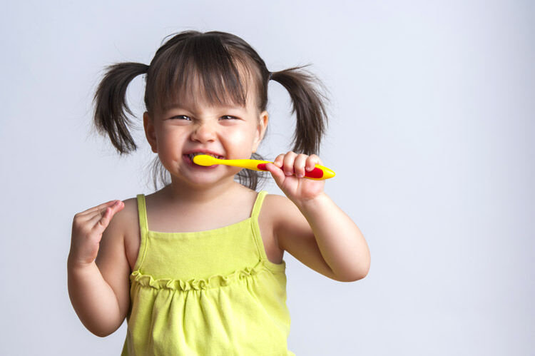 Preparing toddlers for the dentist visit