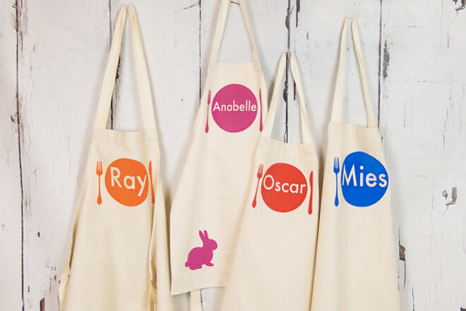 Personalised aprons kids etsy