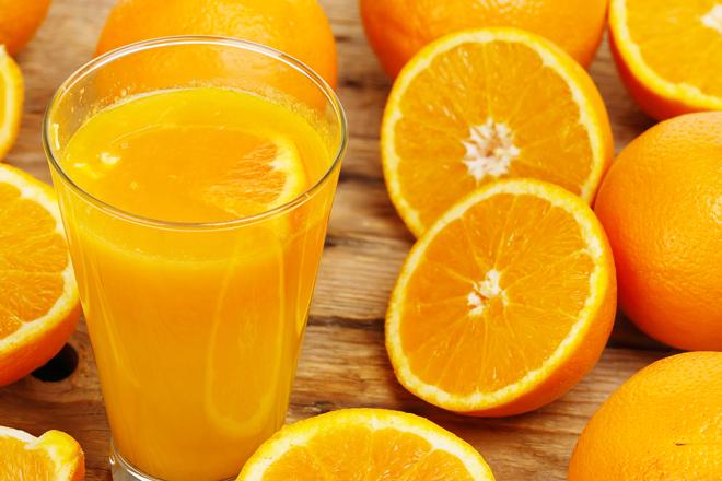Pregnancy foods to eat orange juice