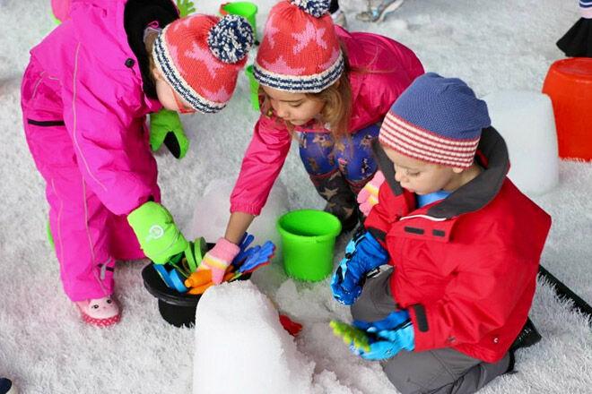 Brisbane Qld snow kids