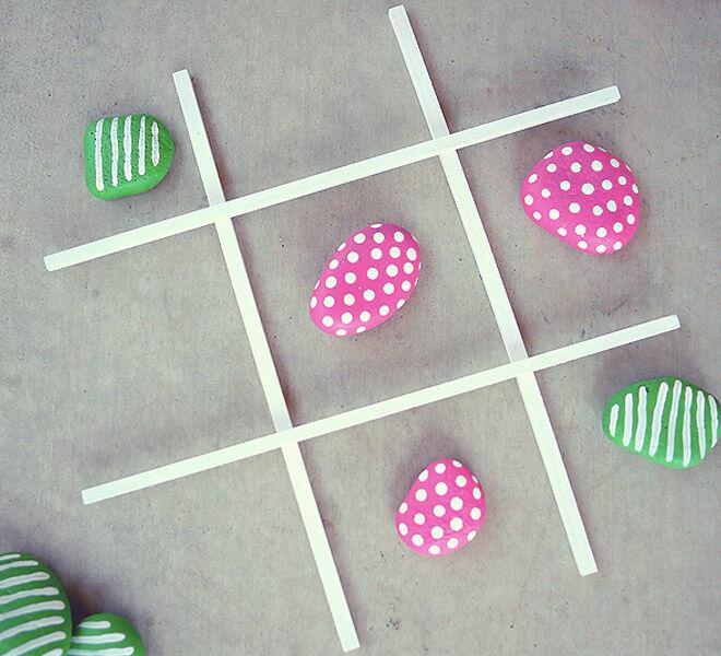 Game On 19 Diy Tic Tac Toe Sets For Kids