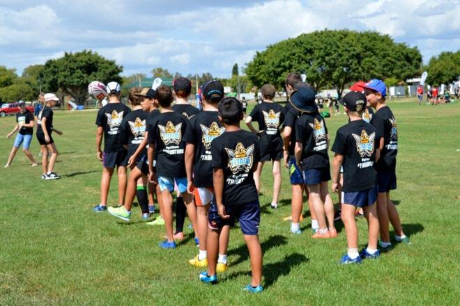 Queensland school holiday kid NRL footy sport