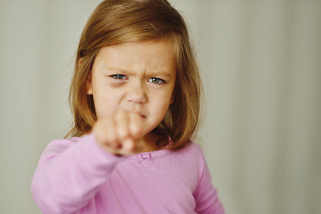 Tips for raising a toddler aggression