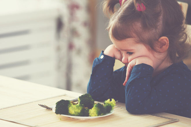 Tips for raising a toddler fussy eating
