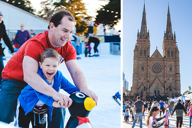 Winter Festival St Marys Cathedral Sydney