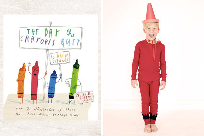 Book week costume ideas day the crayons quit