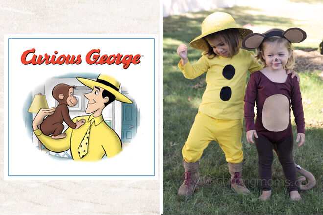 Book week costume ideas Curious george
