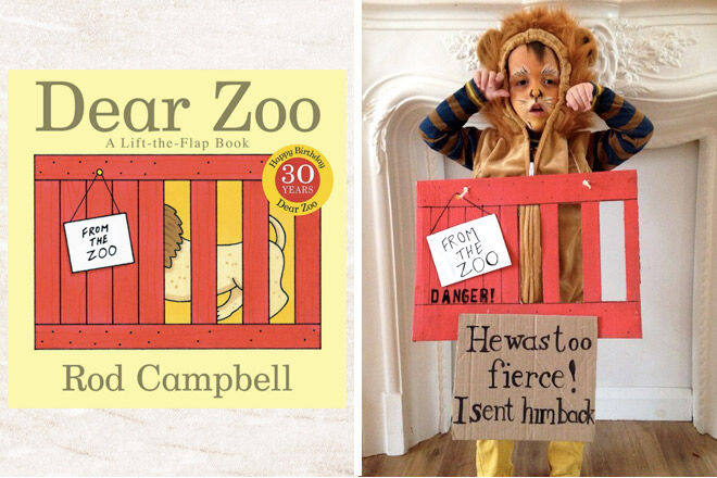 Book week costume ideas dear zoo