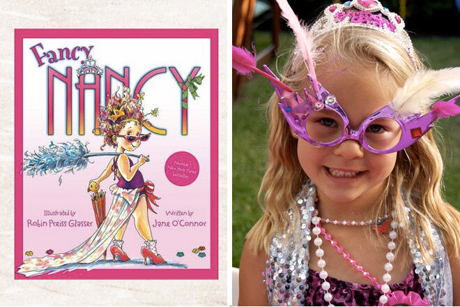Book week costume ideas Fancy Nancy