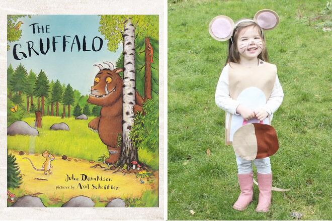 Book week costume ideas gruffalo mouse