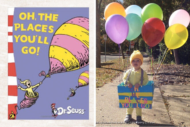 Book week costume ideas Oh the places you'll go