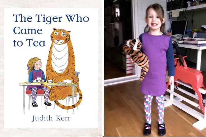 Book week costume ideas The tiger who came to tea