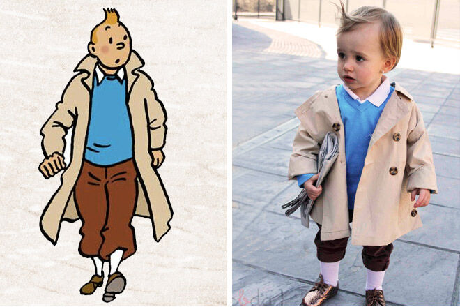 Book week costume ideas tintin