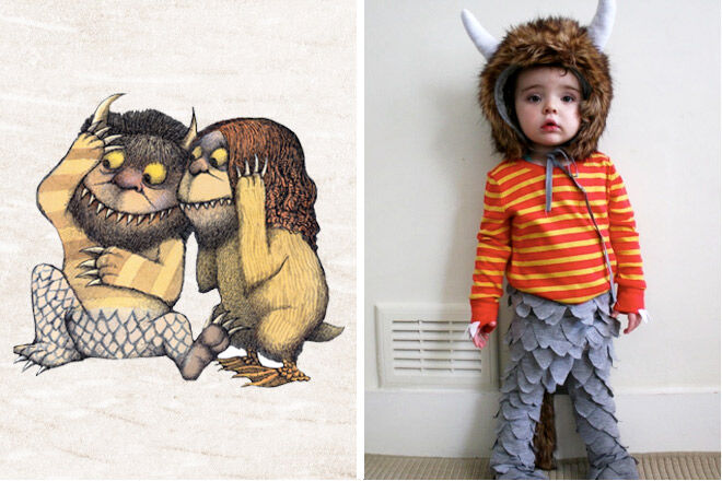 Book week costume ideas Where the wild things are