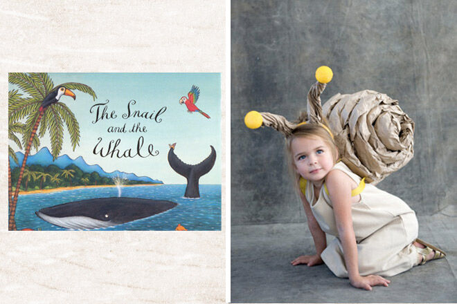 Book week costume ideas Snail and the Whale